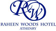 RaheenWoods blue-white Logo