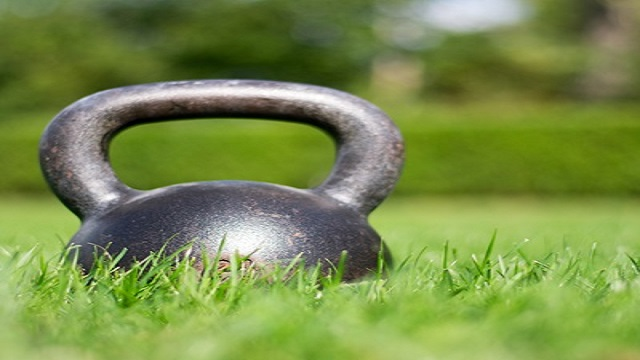 outdoor kettlebell